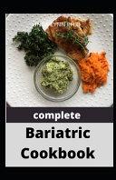 Complete Bariatric Cookbook Book PDF