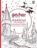 Harry Potter Magical Places   Characters Colouring Book PDF