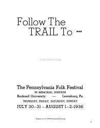 Pennsylvania Folklife Book PDF