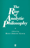 Rise of Analytic Philosophy PDF