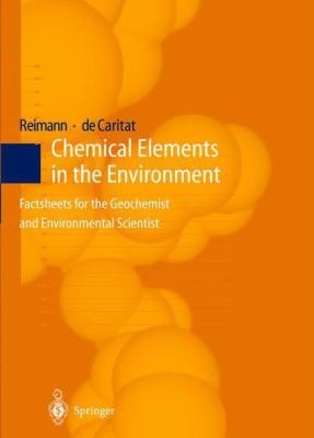 Chemical Elements in the Environment