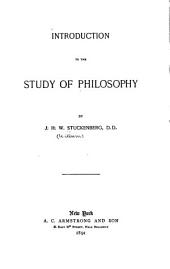 Introduction to the Study of Philosophy