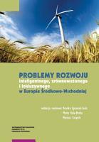 Problemy rozwoju inteligentnego  zr  wnowa  onego i inkluzywnego w Europie   rodkowo Wschodniej PDF