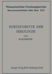 Fortschritte der Serologie