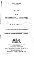 Minutes of Evidence Taken of the Departmental Committee on Prisons PDF