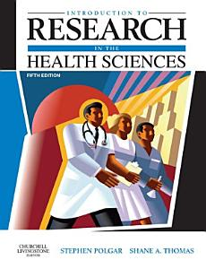 Introduction to Research in the Health Sciences E Book PDF