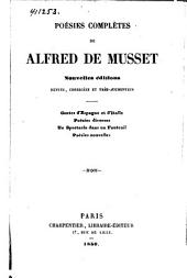 Poésies nouvelles de Alfred de Musset: 1840-1849, Volume1