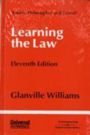 Download Learning the Law Book