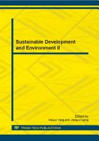 Sustainable Development and Environment II PDF