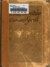 Lieutenant Gustl: Novelle