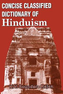 Concise Classified Dictionary of Hinduism