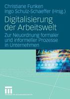 Digitalisierung der Arbeitswelt PDF