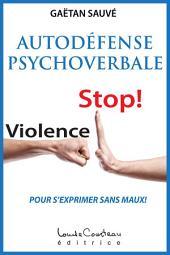 Autodéfense psychoverbale