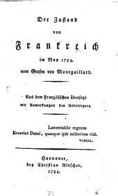 Der Zustand von Frankreich im Mai 1794