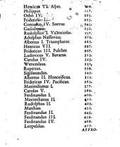 Imperium Romano-Germanicum Seu Elogia Quinquaginta Germaniae Regum et Imperatorum