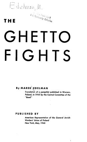 The Ghetto Fights