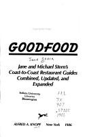 Roadfood and Goodfood PDF