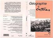 GEOGRAPHIE ET CULTURES N° 25
