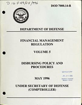 Financial Management Regulation PDF