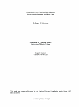 Normalization and Quotient Digit Selection for a Variable Precision Arithmetic Unit PDF