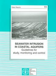 Seawater Intrusion In Coastal Aquifers Book PDF