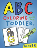 ABC Coloring Books for Toddlers Book13