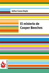 El misterio de Cooper Beeches (low cost). Edición limitada