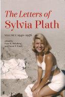 Letters of Sylvia Plath PDF