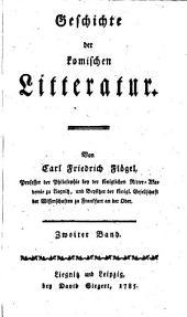 Geschichte der komischen litteratur: Band 2