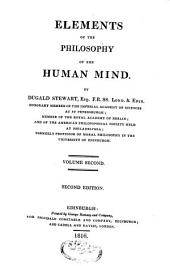Elements of the Philosophy of the Human Mind: Volume 2
