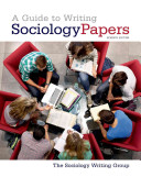 A Guide to Writing Sociology Papers Book