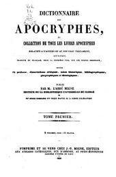 Série de dictionnaires sur toutes les parties de la science religieuse
