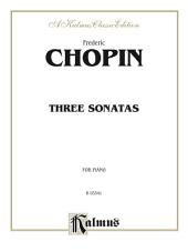Three Sonatas: For Advanced Piano