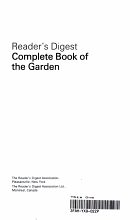 Complete Book of The Garden PDF