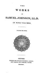 The Works of Samuel Johnson: Miscellaneous pieces