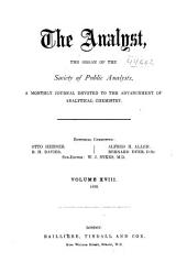 The Analyst: Volume 18