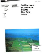 Soil survey: Volume 1