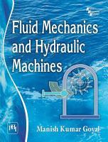 FLUID MECHANICS AND HYDRAULIC MACHINES PDF