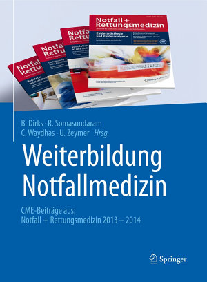 Weiterbildung Notfallmedizin PDF