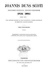 Opera omnia: Volume 13