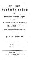 Literarisches Handw  rterbuch der verstorbenen deutschen Dichter     von 1137 bis 1824 PDF