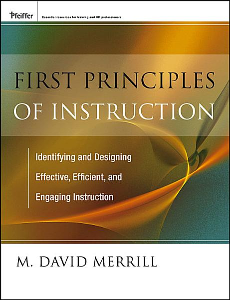 Download First Principles of Instruction Book