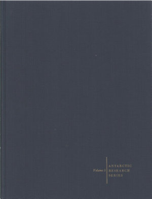 Biology of the Antarctic Seas II