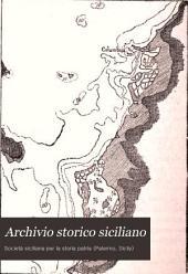 Archivio storico siciliano: Volume 8