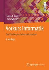 Vorkurs Informatik: Der Einstieg ins Informatikstudium, Ausgabe 4