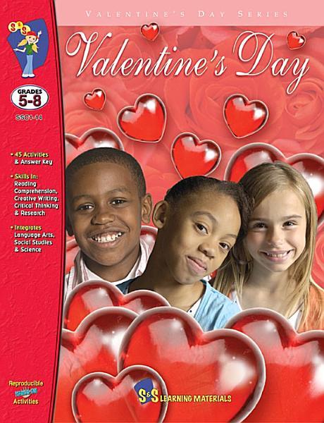 Download Valentine s Day Gr  5 8 Book