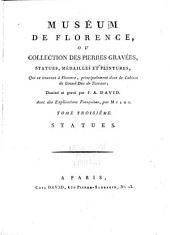 Le Museum de Florence: Statues antiques. 1787