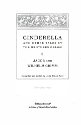 Cinderella and Other Tales by the Brothers Grimm Book and Charm PDF