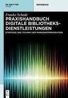 Praxishandbuch Digitale Bibliotheksdienstleistungen PDF