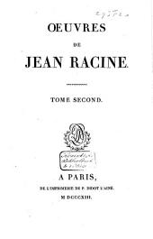 Oeuvres de Jean Racine: Britannicus. Bérénice. Bajazet. Mithridate